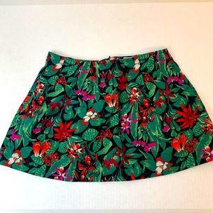 Zara Trafaluc Floral Skirt